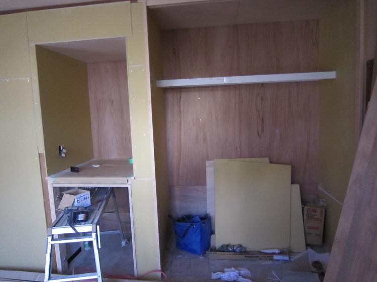 島野邸和室施工中3
