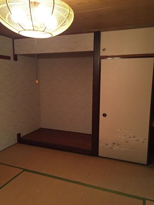山口様邸施工前和室