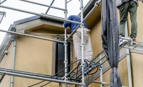 屋根・外壁塗装における高圧洗浄